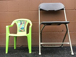 Children chairs for rent