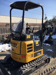 John Deere 17G Compact Excavator